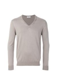 Jersey de pico gris de Cruciani