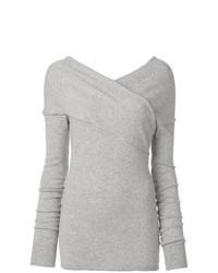 Jersey de pico gris de Emilio Pucci