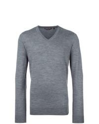 Jersey de pico gris de Michael Kors Collection