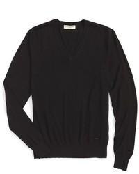 Jersey de pico negro de Burberry