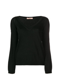 Jersey de pico negro de Twin-Set