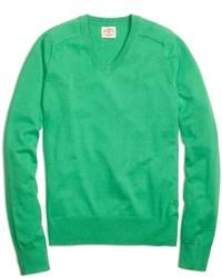 Jersey de pico verde