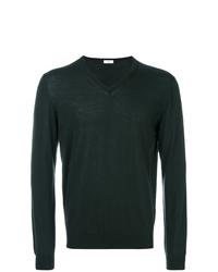 Jersey de pico verde oscuro de Fashion Clinic Timeless