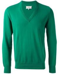 Jersey de pico verde de Maison Margiela
