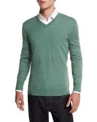 Jersey de pico verde de Neiman Marcus