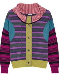 Jersey de rayas horizontales en violeta de Loewe