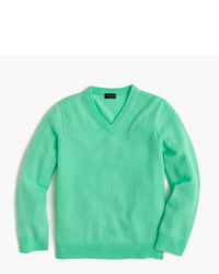 Jersey en verde menta de J.Crew