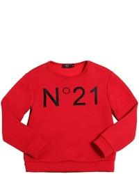 Jersey estampado rojo de N°21