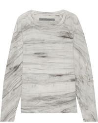 Jersey gris de Raquel Allegra