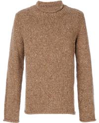 Jersey marrón claro de Maison Margiela