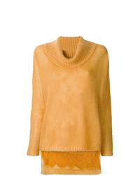 Jersey oversized amarillo de Twin-Set