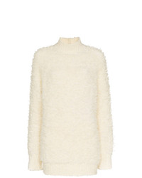Jersey oversized de punto blanco de Marni