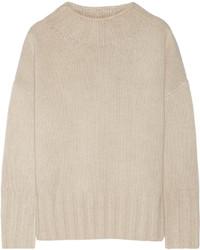 Jersey oversized de punto en beige de The Row