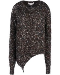 Jersey Oversized de Punto Gris Oscuro de Stella McCartney