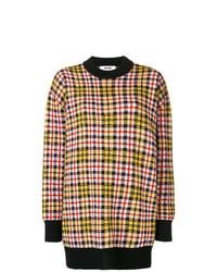 Jersey oversized en multicolor de MSGM
