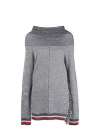 Jersey oversized estampado gris de Stella McCartney