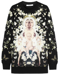 Jersey oversized estampado negro de Givenchy