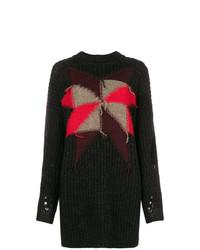 Jersey oversized estampado negro de Isabel Marant