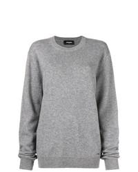 Jersey oversized gris de Dsquared2