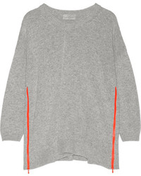 Jersey oversized gris