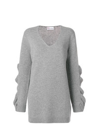 Jersey oversized gris de RED Valentino