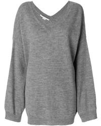 Jersey oversized gris de Stella McCartney