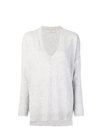 Jersey oversized gris de Twin-Set