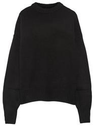 Jersey oversized negro de The Row