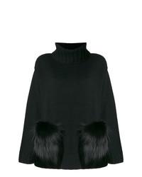 Jersey oversized negro de Yves Salomon