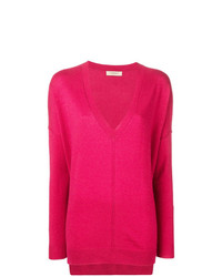 Jersey oversized rosa de Twin-Set