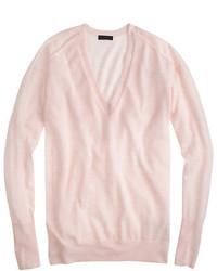 Jersey oversized rosado de J.Crew