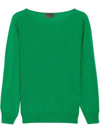 Jersey oversized verde de Lanvin