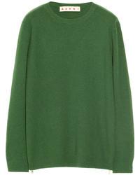 Jersey oversized verde de Marni