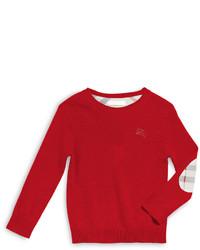 Jersey rojo de Burberry