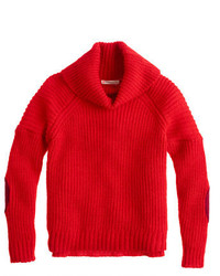 Jersey rojo de J.Crew