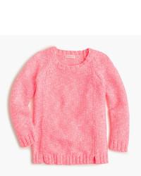 Jersey rosado de J.Crew