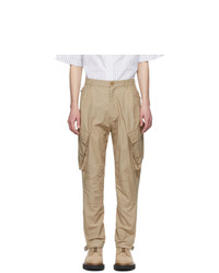 Givenchy Beige Tapered Cargo Pants