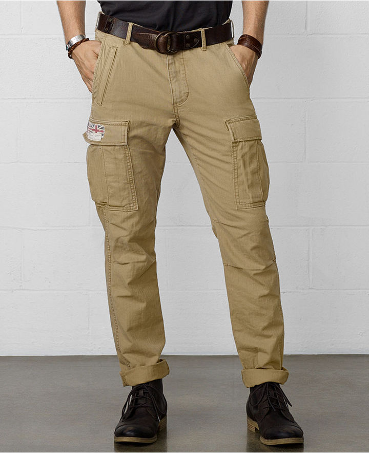Denim & Supply Ralph Lauren Zip Pocket Cargo Pants | Where to buy ...