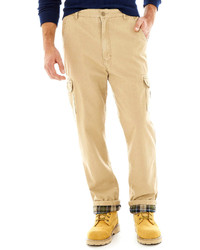Stanley Flannel Lined Twill Cargo Pants