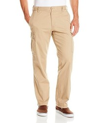 Izod Flat Front Straight Fit Stretch Cargo Pant