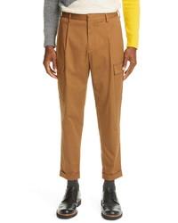 Z Zegna Single Pleat Cuffed Cargo Pants