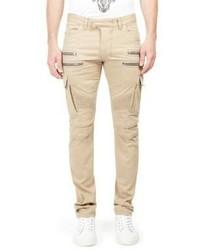 Balmain Slim Fit Cargo Pocket Pants