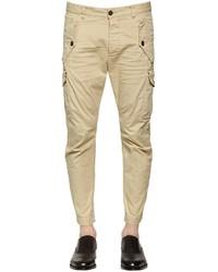 Stretch cotton twill cargo pants medium 3756887