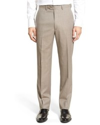Khaki Check Dress Pants