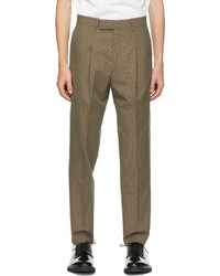 Paul Smith Brown Check Trousers