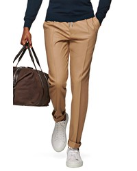 Suitsupply Ames Pleated Solid Wool Dress Pants