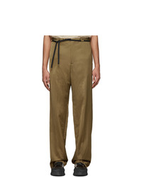 Jil Sander Beige Arizona Trousers