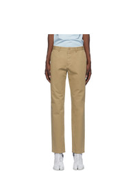Maison Margiela Beige Chino Trousers