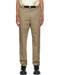 Givenchy Beige Gabardine Trousers