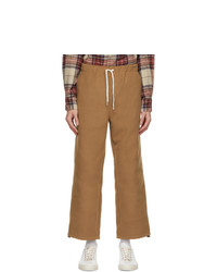 Remi Relief Beige Melton Trousers